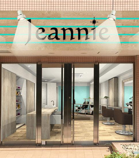 New Open!! 美容室 Jeannie(ジーニー)です