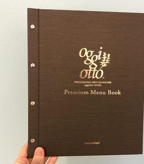 Premium Menu Book